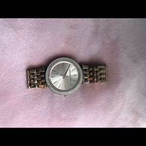 Michael Korda Darci Pave Rose Gold Watch
